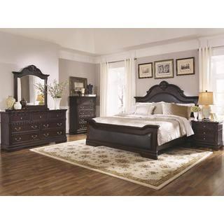 leather bedroom sets. Leeds 6 piece Bedroom Set Leather Sets For Less  Overstock com