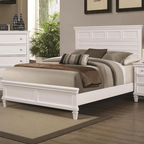 Shop Tucson 3-piece White Bedroom Set