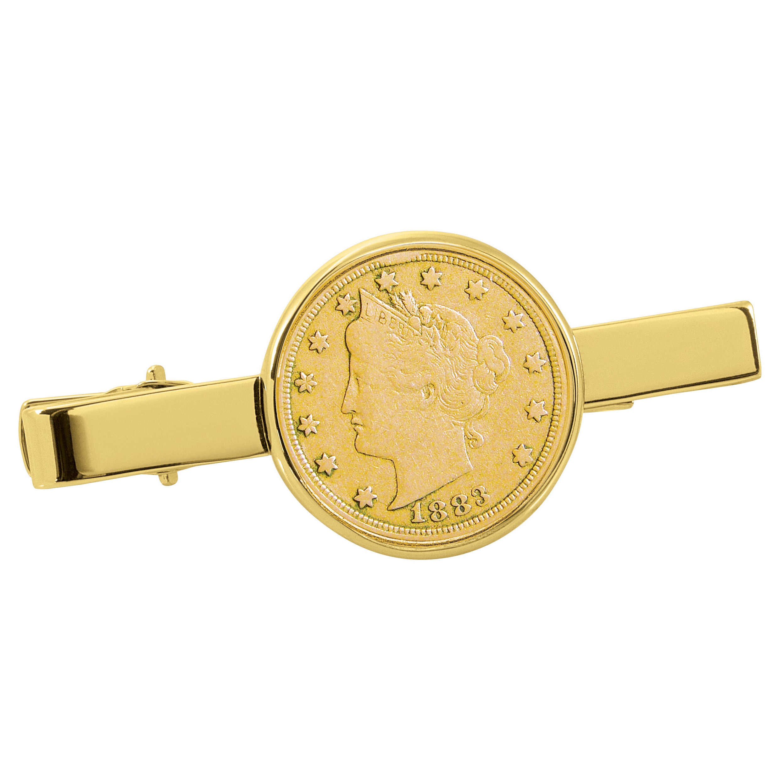 Global American Coin Treasures Gold-Plated 1800's Liberty...
