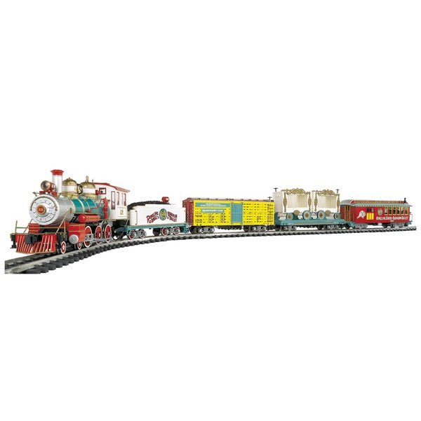 "Bachmann Trains Ringling Bros. And Barnum & Bailey - Large ""G"" Scale Ready To Run Electric Train Set"