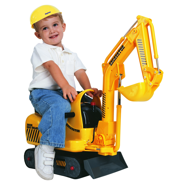 Micro Construction Excavator Ride-On (G832061008028), Multi
