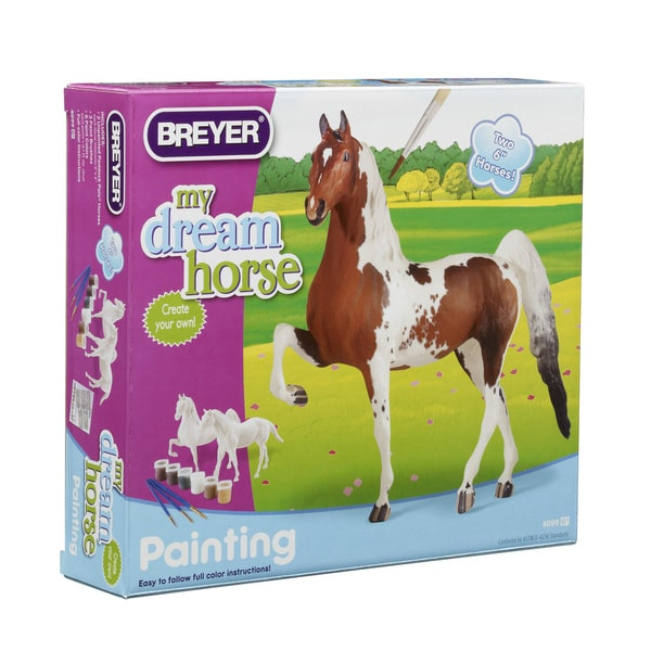 BREYER Paint Your Own Horse Activity Kit, Quarter Horse and Saddlebred