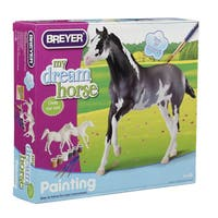BREYER Paint Your Own Horse Activity Kit, Arabian & Thoroughbred