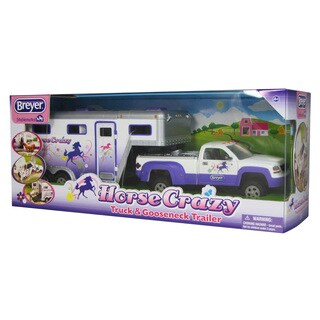 BREYER Stablemates Horse Crazy Truck and Trailer