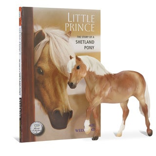 BREYER Horse Figurine and Book Set, Little Prince