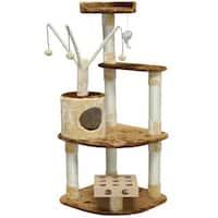 GoPetClub IQ Busy Box 60-inch Cat Tree