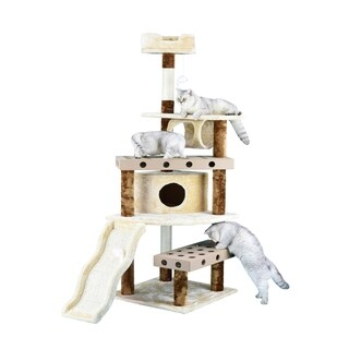 Go Pet Club IQ Busy Box 70-inch Cat Tree