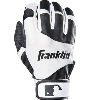 Franklin Sports Youth Flex Batting Glove Black/White Youth XX-Small