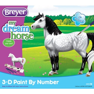 "BREYER My Dream Horse 3D Paint By Number Activity Set - 6"" Horse"