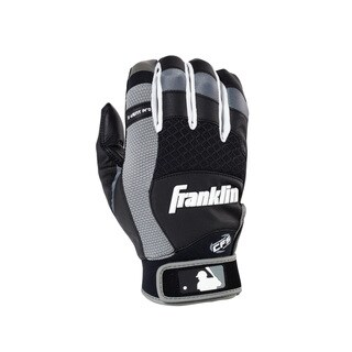 Franklin Sports X-Vent Pro Batting Glove Black/Gray Youth Small