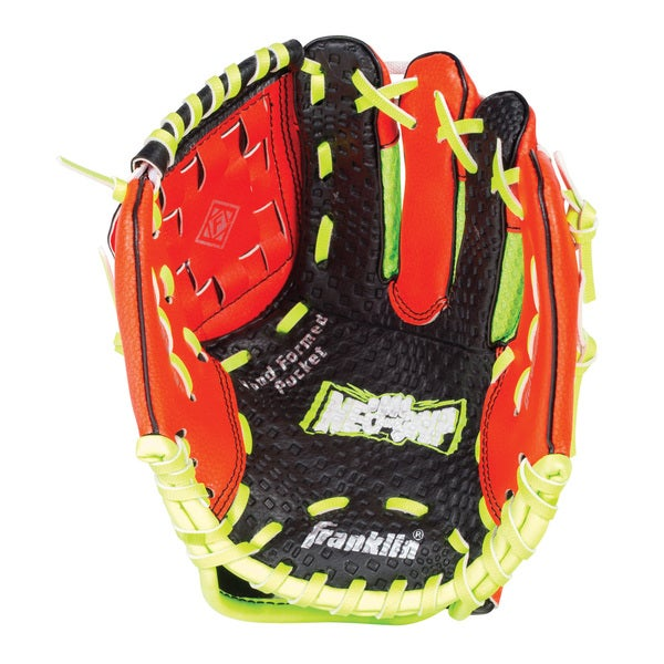 "Franklin Sports 9.0"" Neo-Grip Teeball Glove Red-Right Handed"