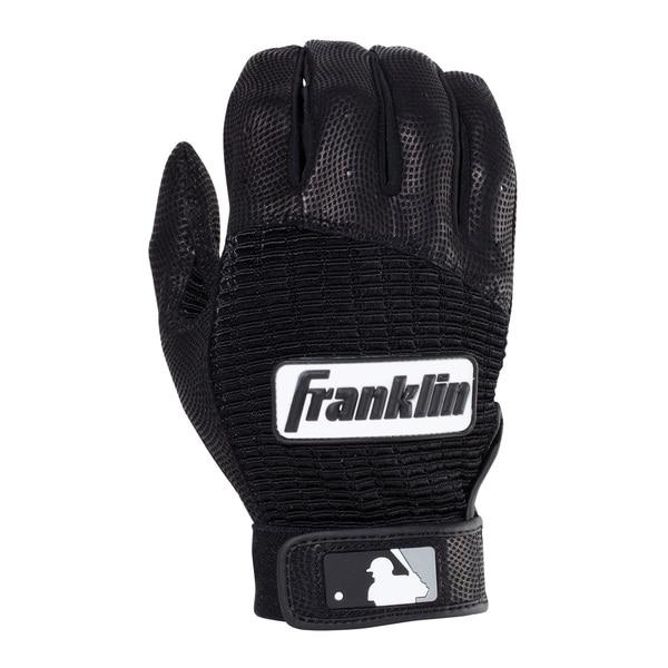 Franklin Sports Pro Classic Batting Glove Pearl/Red Youth Medium