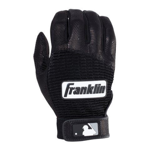 Franklin Sports Pro Classic Batting Glove Pearl/Red Youth Medium
