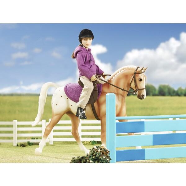 BREYER Classics English Horse & Rider