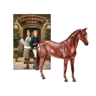 BREYER Horse Stories Canterwood Crest: Chasing Blue -Aristocrat