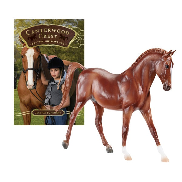 BREYER Horse Stories Canterwood Crest: Take The Reins-Charm