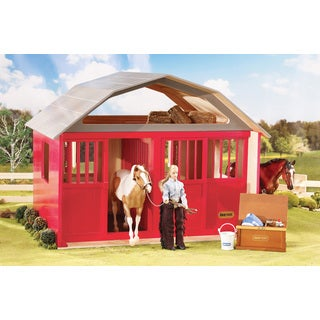 BREYER Traditional Series Two Stall Barn - Red