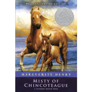 BREYER Traditional Series Misty Of Chincoteague & Stormy Horse Model & Book Set