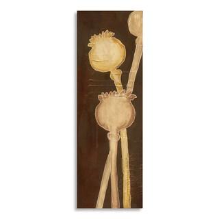 Gallery Direct Laura Gunn 'Poppy Pods III' Print on Birchwood Art