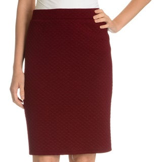 Sunny Leigh Women's Quilted Pencil Skirt