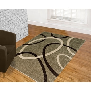 Contemporary Fume Area Rug (8' x 11')