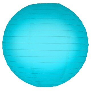 Turquoise 10-inch Paper Lanterns (Pack of 5)