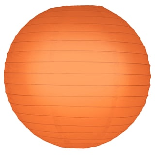 Orange 10-inch Paper Lanterns (Pack of 5)