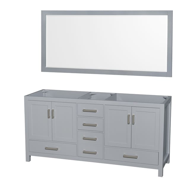 72 inch mirror wall wyndham collection sheffield 72inch gray double vanity 70inch mirror shop 70