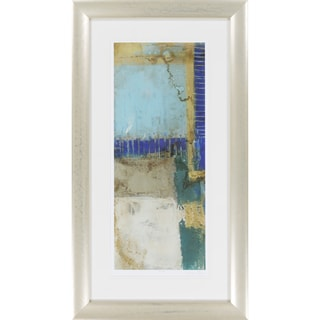 Abstract Amanda Rectangular Framed Giclee on Paper 24 x 42