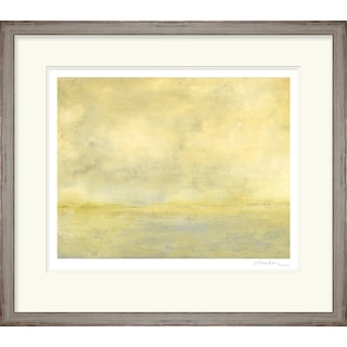 Transitional Lorene Rectangular Framed Giclee on Paper 26 x 23