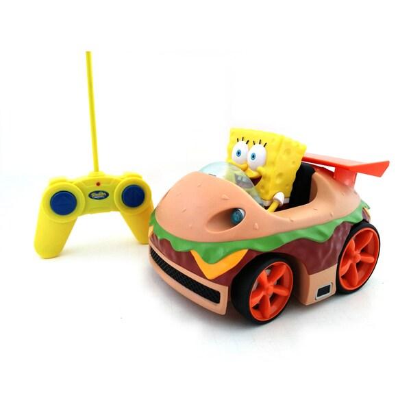 "Full Function Remote Control SpongeBob Squarepants ""Krabby Patty"""