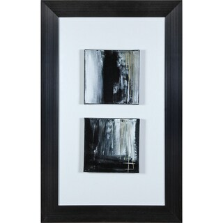 "Transitional Alanna Rectangular Framed Canvas Print 26"" x 41"""