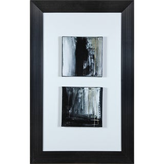 "Transitional Alanna Rectangular Framed Canvas Print 26"" x 41"""