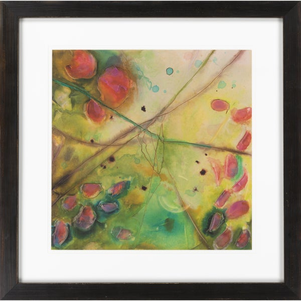 """Abstract Alayna Square Framed Giclee on Paper 27"""" x 27"""""""