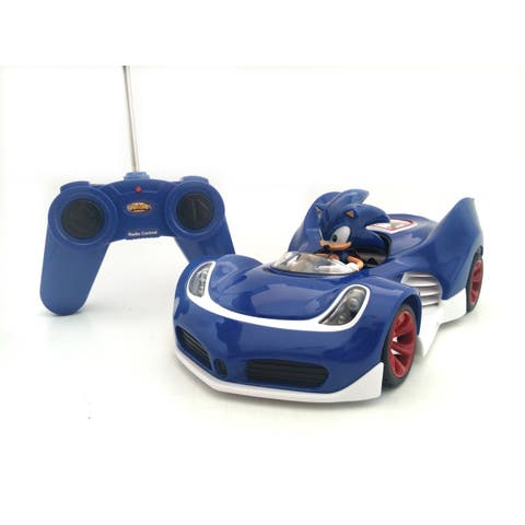 Full Function Remote Control Sonic The Hedgehog Sonic Car - 27 mhz