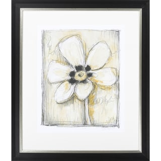 "Floral Emilie Rectangular Framed Giclee on Paper 27"" x 31"""