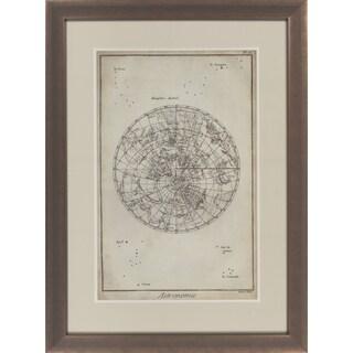 "Map Davian Rectangular Framed Giclee on Paper 30"" x 40"""