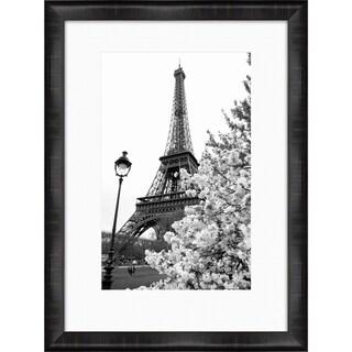 "Eiffel Tower Ashlee Rectangular Framed Photography 30"" x 40"""