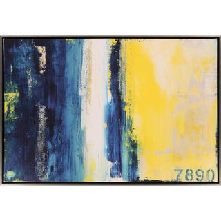 Transitional Reeves Rectangular Framed Canvas Print 37 x 25