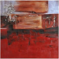 Abstract Luther Square Unframed Oil-painting on Canvas 40 x 40
