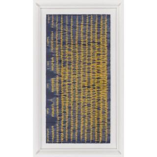"""Stripe Adalyn Rectangular Framed Giclee on Paper 44"""" x 26"""""""
