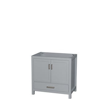 Wyndham Collection Sheffield 36-inch Gray Single Vanity