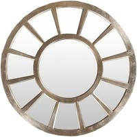 "Decorative Paulie Gilded Finish Accent Mirror - 47"" x 47"" - Gold"