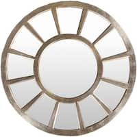 "Decorative Paulie Accent Mirror - 47"" x 47"" - Gold - 47"" x 47"""