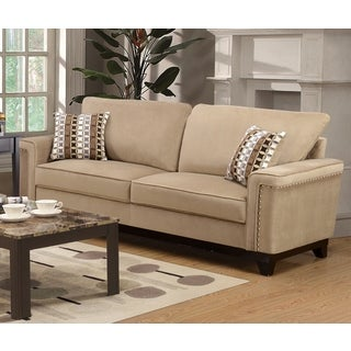 brighton taupe 3 piece chaise and sofa set free shipping