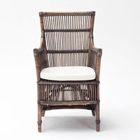 The Curated Nomad Serkis Rattan Chair (Set of 2)
