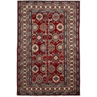 Shirvan Hand Knotted Area Rug - 4 x 6