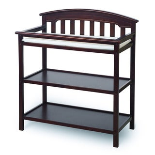 Child Craft Stanford Cherry 2-shelf Dressing Table