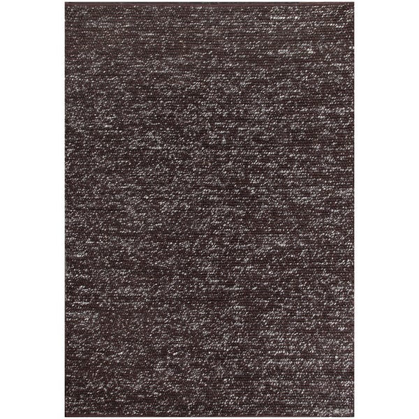 Shop ABC Accent Dilana Brown Wool Rug