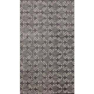 ABC Accents Lizzie Contemporary Gray Rug